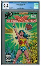 Wonder Woman #329 (1986) Final Issue DC Comics CGC 9.4 AA541