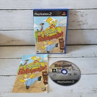 The Simpsons Skateboarding Ps2 Sony PlayStation 2 2002 PAL Complete Free UK Post