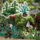 Busch 1250 Hemp & Poppy 6 Hemp & 16 Poppy Plants HO/OO Gauge