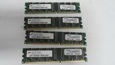 Micron 256MB PC2700 DDR, 333, CL2.5  MT8VDDT3264AG-33 (LOT OF 4)