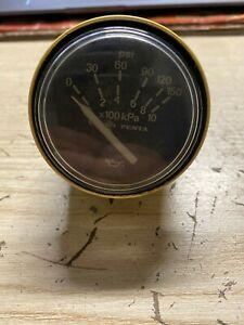 Volvo Penta kPa x100 Pressure Gauge 150 PSI 873197, 863934
