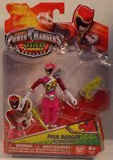 """Power Rangers Dino Charge- 5"""" Action Hero Pink Ranger Dino Saber Morpher (MOC)"""