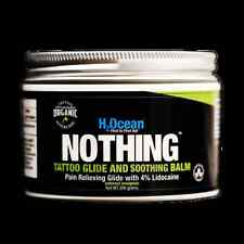 H2Ocean Nothing Foam Tattoo Glide and Soothing Balm Lidocaine organic 200g 7 oz