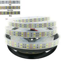 LED Strip 5050 120 LEDs / m DC12V Waterproof Flexible Tube LED Light Double Row