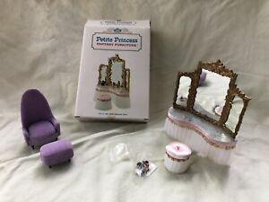 Vintage Petite Princess Fantasy Furniture 4417-2 300 Royal Dressing Table plus !