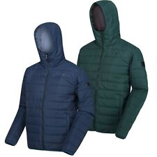 Regatta Mens Helfa Padded Quilted Hooded Walking Hiking Golf Jacket RRP £50