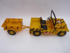 Big Jim, MATTEL *** Willys Jeep SAFARI + Anhänger *** altes 70er Jahre Spielzeug