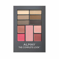 1 X ALMAY THE COMPLETE LOOK MAKEUP PALETTE 100 LIGHT MEDIUM EYESHADOW BLUSH LIPS