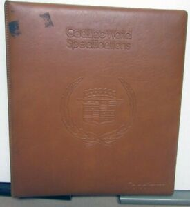 1980 Cadillac Dealers Album Features Specifications Seville Brougham Eldorado