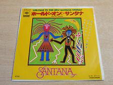 "EX !! Santana/Hold On/1982 CBS 7"" Single/Japanese"