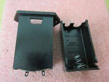 2 x BX0023 Drawer holder Mounting on panel PP3 6R61 Battery Holder BULGIN £4.50e