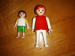 Playmobil Vintage 1974 Adult and Child Figure