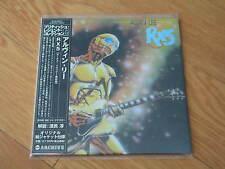 ALVIN LEE RX5 RARE OOP JAPAN MINI-LP CD