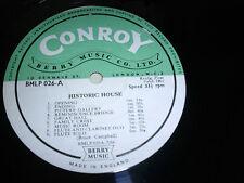 LIBRARY CONROY/BERRY MUSIC BLMP026 10inch LP 1966 Bruce Campbell  *RAR*