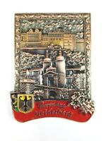Heidelberg Ansicht Metall Magnet Souvenir Deutschland Germany (14)
