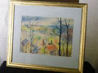 William Reginald Watkins Listed Artist Original Maryland Landscape Painting