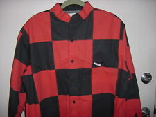 Htf Maury Tate Mo Betta Men's Black & Red Check Lng. Sleeve Shirt~Size Unknown