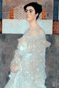 Margaret Stonborough Wittgenstein by Gustav Klimt 60cm x 40.6cm Canvas Print