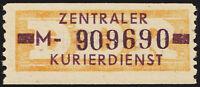 DDR-Dienst, B 22 M, Dresden, tadellos postfrisch, Befund Paul, Mi. 150,-