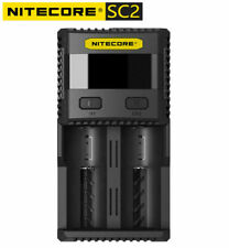 Nitecore Sc2 3A Fast Quick Intellicharger For 18650 Rcr123A 14500 16340 26650