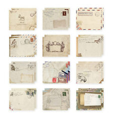 12pcs Vintage Home Office Stationery Mini Paper Ancient Envelope 97mm*72mm Craft