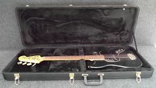 BLACK HARD CASE FITS FENDER MUSTANG & MUSIC MASTER short scale BASS GUITARS