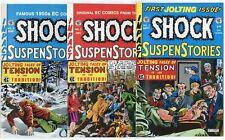 Shock Suspenstories #1 - 7  Complete Set  avg. NM 9.4  Russ Cochran  1992