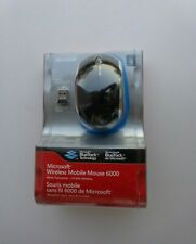Microsoft Wireless Mobile Mouse 6000-Black For Windows & Mac(New Factory Sealed)