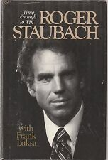 Roger Staubach : Time Enough to Win by Frank Luksa and Roger Staubach (1980, Har