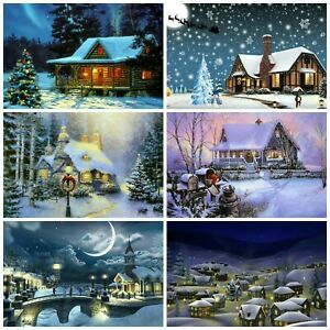 A VILLAGE CHRISTMAS  Embellishments, Card Making Toppers, Card Toppers