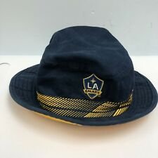 8db5152238f29 Adidas Safari Hat Galaxy MLS Soccer Team Size L XL 100%cotton Blue Color