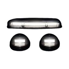 Recon 264155WHBKHP Smoked Cab Roof Light Lens (Set of 3)