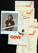 ORIGINAL Vintage YOUNG GOVE SCRIVENOR Concert Press Kit & Photo / FOLK COUNTRY