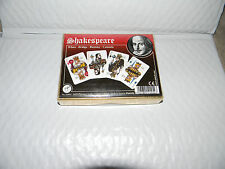 Playing cards Double Deck of  Piatnik  Shakespeare NEW still sealed