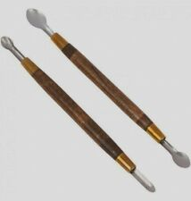 M00149 MOREZMORE Kemper Clay Lift Set STRAIGHT 2 Sculpting Pottery Spoon Tools