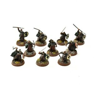 LOTR 10 Rohan warriors #1 Games workshop WELL PAINTED