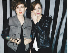 TEGAN AND SARA QUINN SIGNED AUTOGRAPH 8X10 PHOTO  PROOF #6