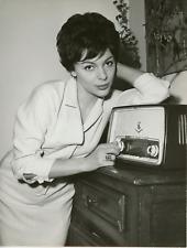 L'actrice Françoise Prévost Vintage silver print Tirage argentique  18x