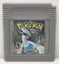 Nintendo Game Boy Color Pokemon Silver Game Only *Authentic* *New Save Battery*