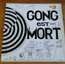 Gong Est Mort Vive Gong Gong French 2-LP vinyl record
