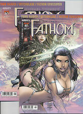 Fathom vana's Revenge # 1+2 completa-Tomb Raider/Witchblade crossover, TOP