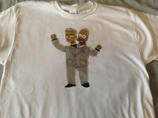 David Byrne & Homer Simpson T-Shirt Talking Heads Simpsons