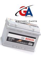 0092S50080 Batteria Auto Bosch Silver S5 080 77 AH Ampere 780 EN 12v Pronto Uso