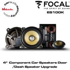 """FOCAL 4"""" componente altavoces del coche Kit de actualización de altavoz de la puerta/tablero Porsche Caymen S"""
