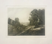REMBRANDT Amand Durand THE FLIGHT INTO EYGPT Etching