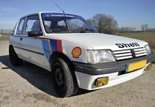 Peugeot 205 T16 Works Rally Car Decals -