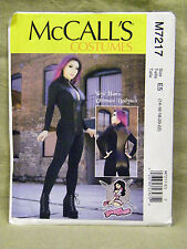 MCCALLS PATTERN 7217 YAYA HANS COSTUME BODYSUIT MISS SIZES 14 16 18 20 22 UNCUT