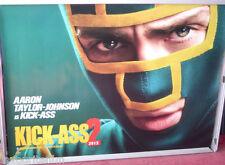 Cinema Poster: KICK-ASS 2 2013 (Kick-Ass Quad) Aaron Taylor-Johnson Jim Carrey
