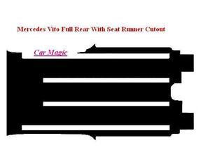 Mercedes Vito (Set of 1) Tailored Car Mats (2005 on) - Black