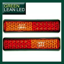 TAIL LIGHT LAMP TRUCK TRAILER BOAT CARAVAN RED AMBER 12V/24V SLIMLINE LED ADR